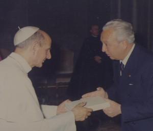 Con S.S. Paolo VI