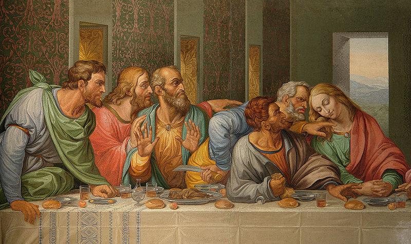 G.Raffaelli - L'Ultima cena